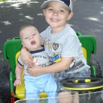 Gavin and Keegan Theriault
