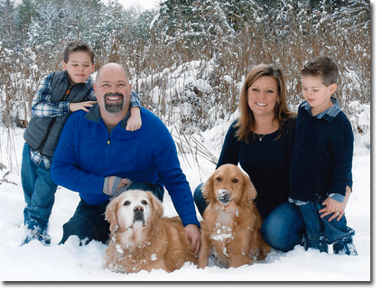 The Theriault Family - Winter 2014